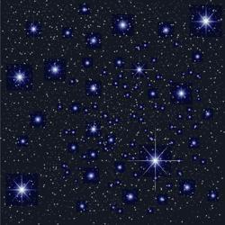 Звездное небо потолок с фотопечатью фото