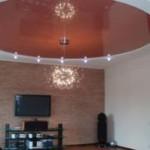 Натяжные многоуровневые потолки