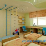 Потолок для детской комнаты фото