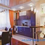 Потолки для кухни фото