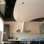 Натяжной потолок для кухни фото