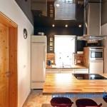 Потолки в кухне фото