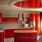 Потолок для кухни фото