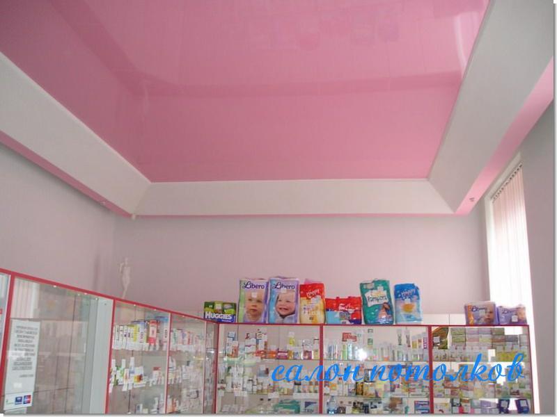 Потолок в магазине фото