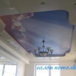 Многоуровневые потолки фото
