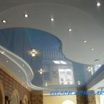 Натяжные потолки многоуровневые фото
