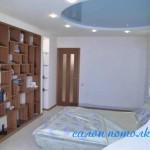 Натяжные потолки спальня