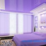 Натяжные потолки фото для спальни цены