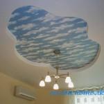 Спальня потолок фото