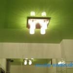 Натяжной потолок ванная фото