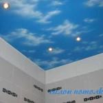 Ванная комната потолок фото